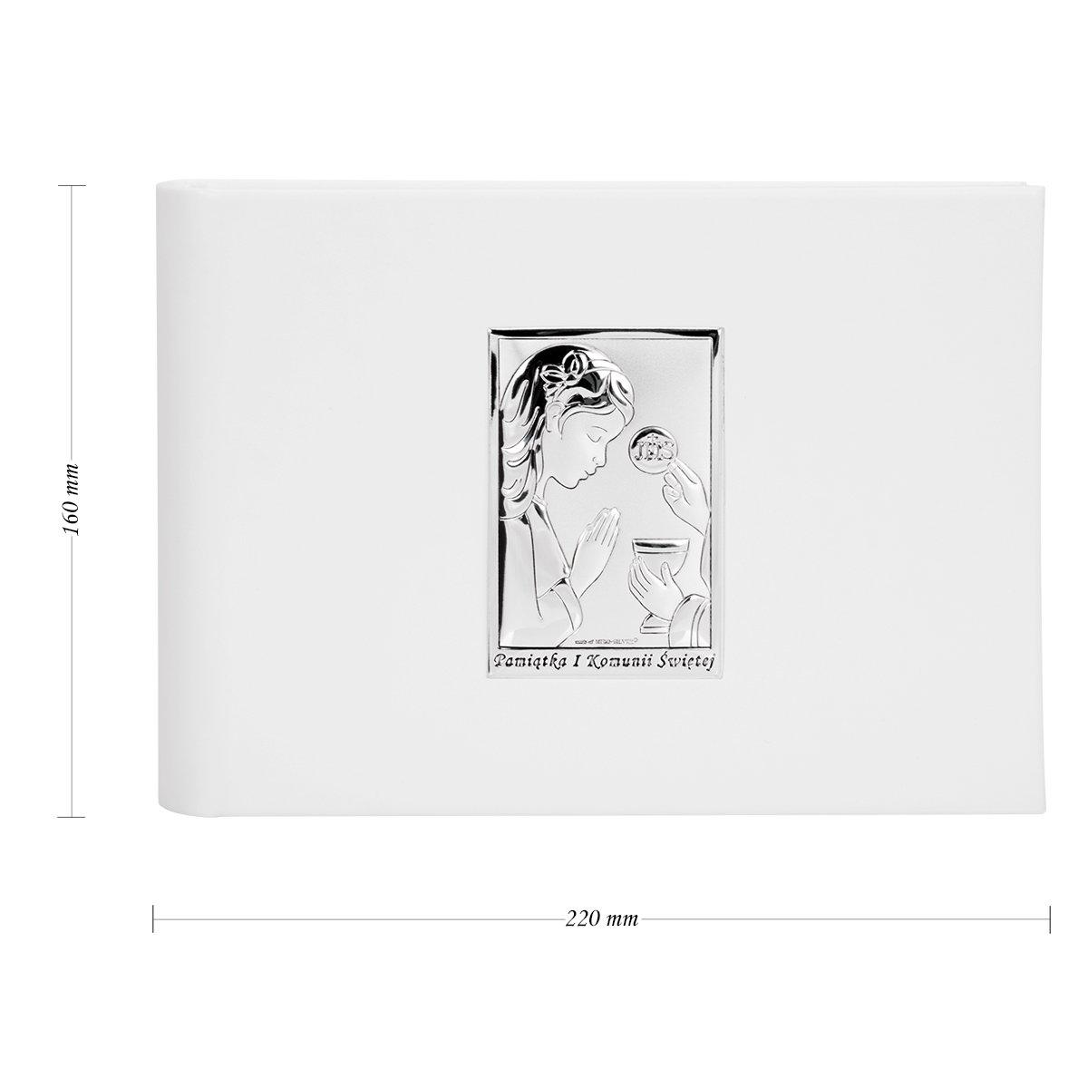 Album na zdjęcia Pamiątka I Komunia Św. Dziewczynka 925 Grawer