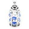 Butelka smoczek Swarovski błękitne kryształypamiątka chrztu GRAWER  3