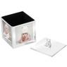 Karuzela miś z pozytywką, szkatułką i miejscem na 4 zdjęcia na chrzest roczek z Grawerem 2