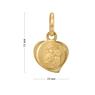 Medalik z Matką Boską Częstochowską p.333 na Chrzest z Grawerem 6