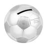 Posrebrzana skarbonka piłka nożna Chrzest Grawer 1