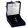 Srebrny krzyżyk / na I Komunię Św./ dla mężczyzny / dla kobiety / pr. 925 2