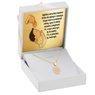 Złoty Komplet pr. 585 Zegar Roczek Chrzest z Grawerem różowa kokardka 2