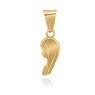 Złoty medalik z Matką Boską pr. 585 Pamiątka Chrzest Święty Komunia Bierzmowanie